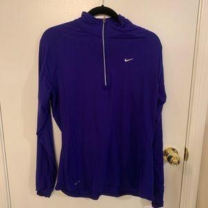 Nike Dry Fit Half Zip Long Sleeve XL